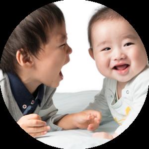 赤ちゃんと幼児