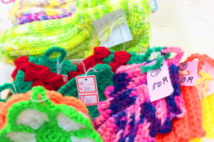 ハンドメイド編み物