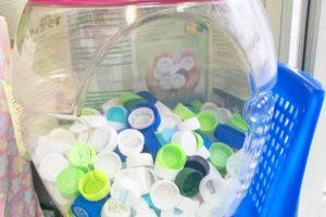 ペットボトルキャップのリサイクル