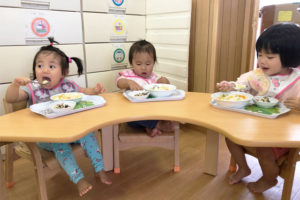 家庭的保育室マリンの園児